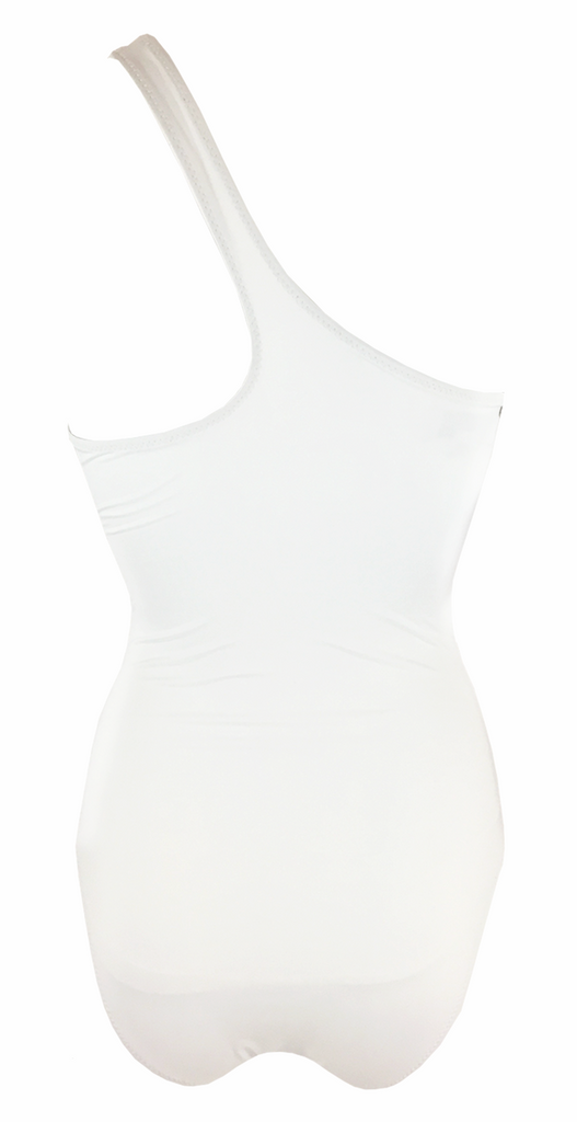 Kore Swim Calypso Maillot in White - Lido West