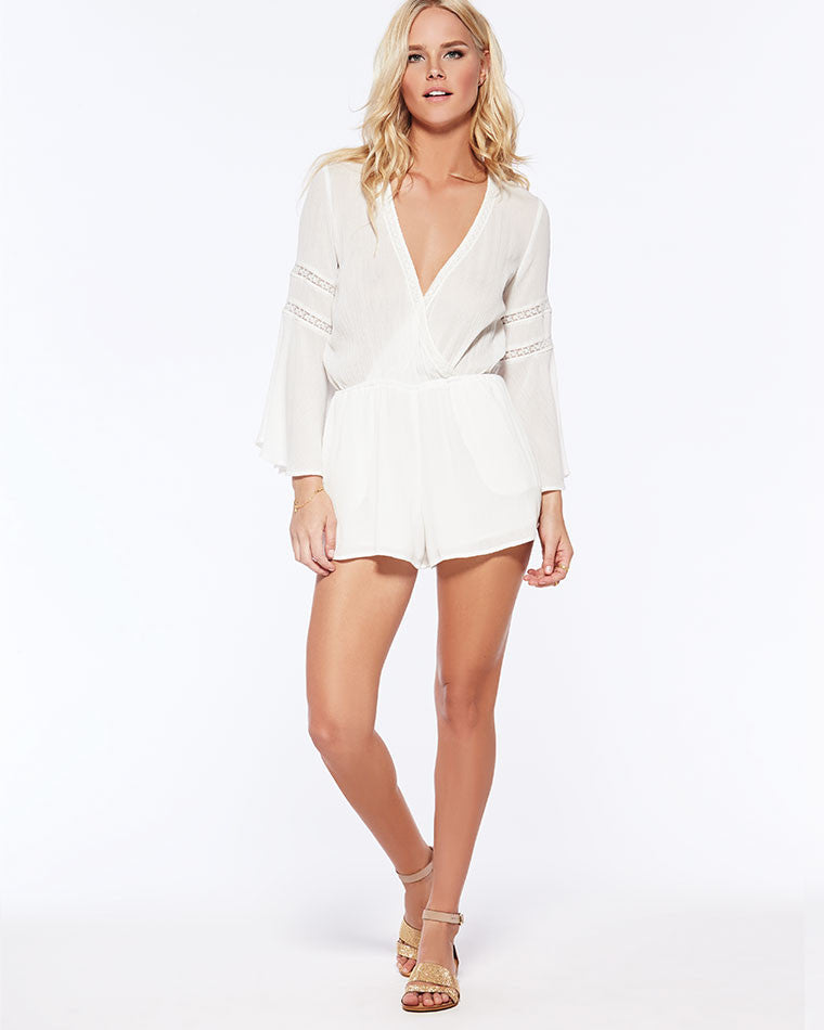 fcb0dd4dec2 ... L Space Lovestruck Romper in Ivory - Lido West ...