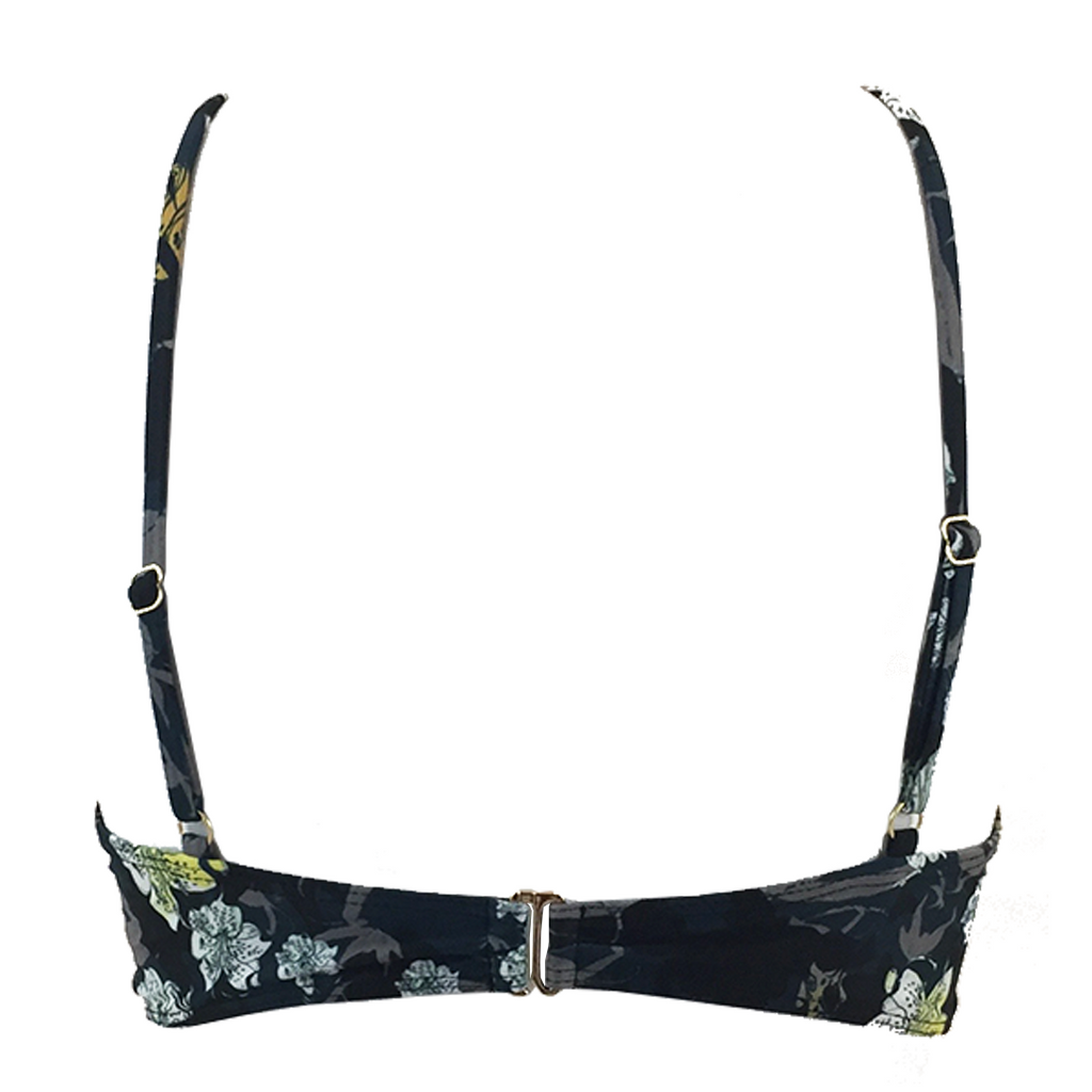 Beach Riot Orchid Top in Midnight Floral - Lido West