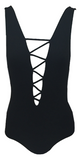 Indah Rainey One Piece in Black - Lido West - 1