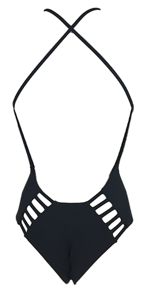 Stone Fox Swim Palma One Piece in Storm - Lido West - 2