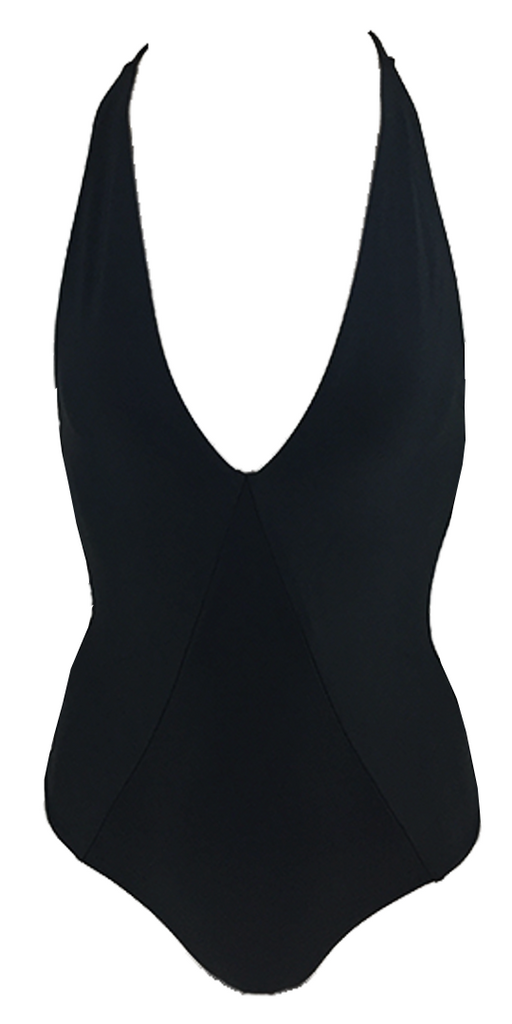 Stone Fox Swim Palma One Piece in Storm - Lido West - 1