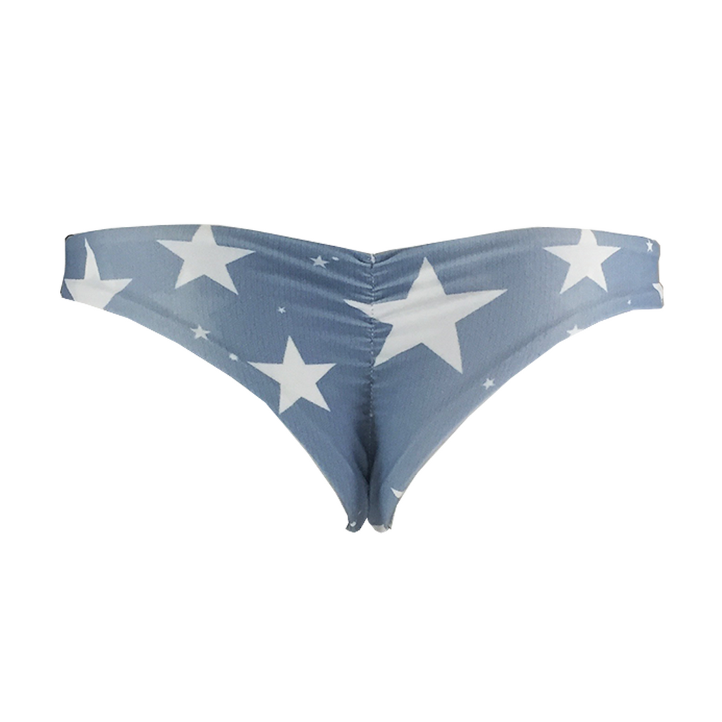 Stone Fox Swim Cai Bottom in Denim Star - Lido West