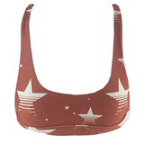 Stone Fox Swim Coco Top in Retro Star - Lido West