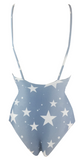 Stone Fox Swim Hermosa One Piece in Denim Star - Lido West
