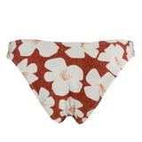 Stone Fox Swim Bowie Bottom in Sand Dollar Hibiscus - Lido West