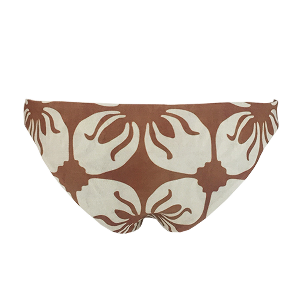 Stone Fox Swim Malibu Bottom in Indo Tile - Lido West