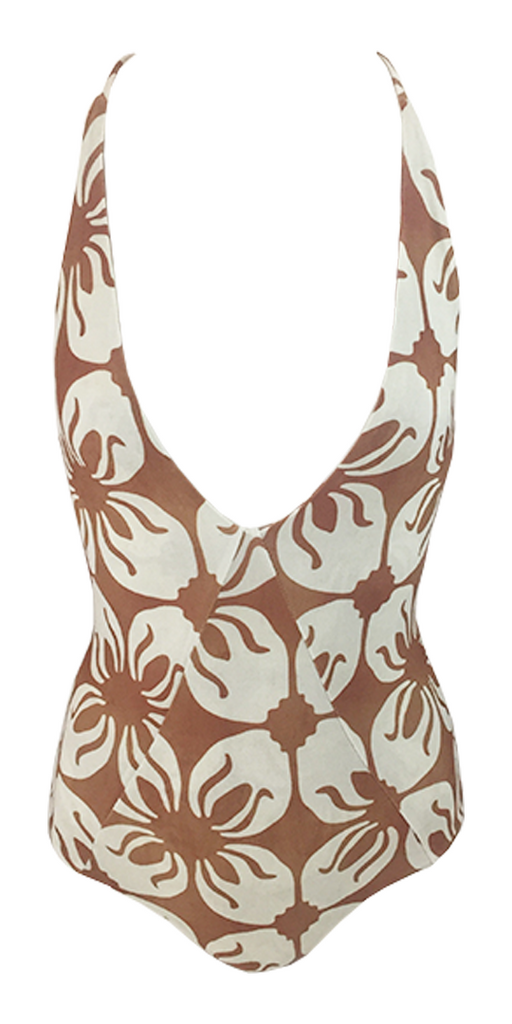 Stone Fox Swim Palma One Piece in Indo Tile - Lido West