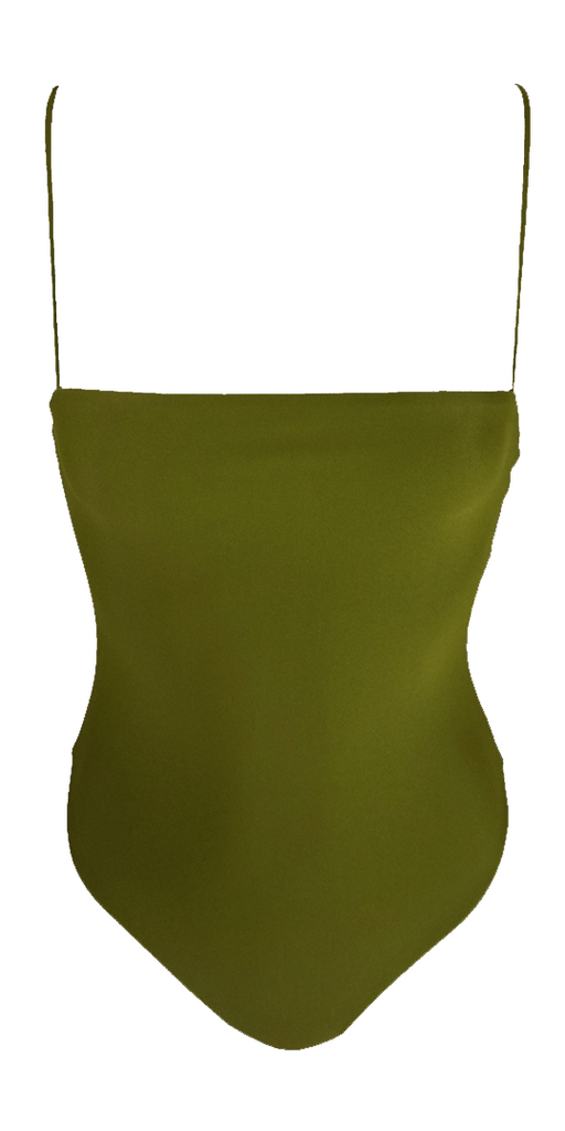 Stone Fox Swim Shanti One Piece in Avocado - Lido West