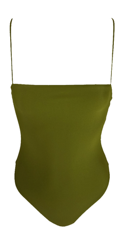 Stone Fox Swim Hana Top in Avocado