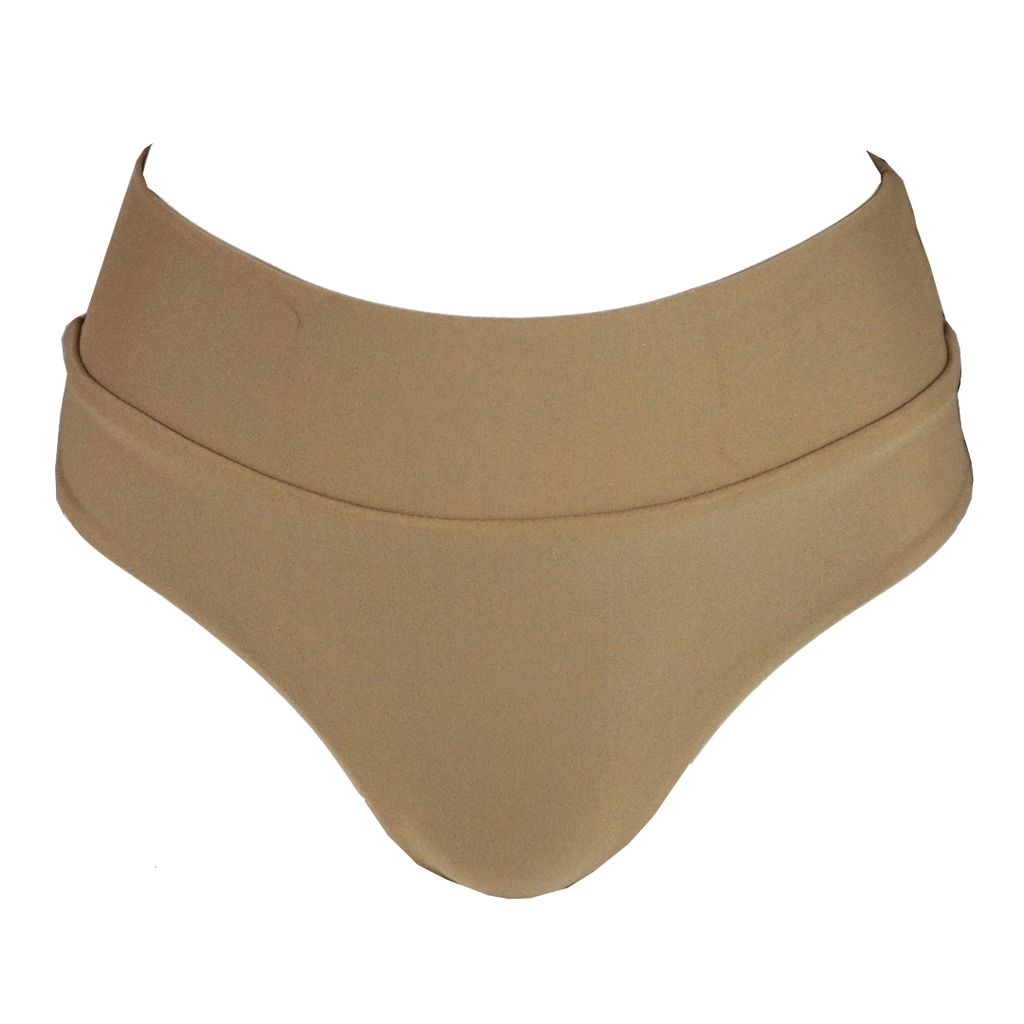 Stone Fox Swim Zion Bottom in Toast - Lido West