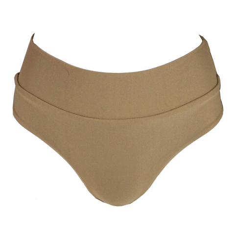 Stone Fox Swim Bowie Bottom in Sand Dollar Hibiscus