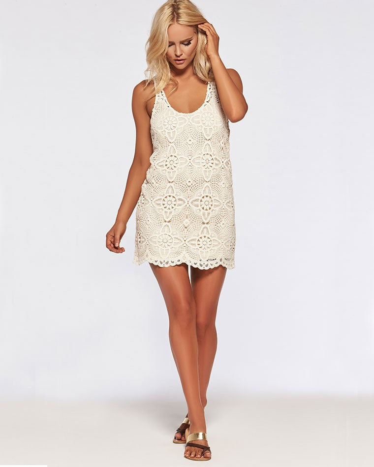 L*Space Lucy Dress in Natural - Lido West