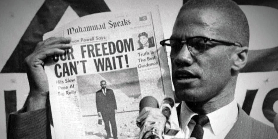 Malcolm X : the Black Power Hero