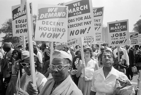 Demonstration for Afro American Civil Rights