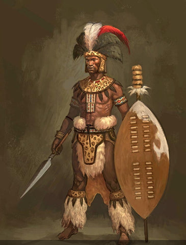 Shaka Zulu depiction