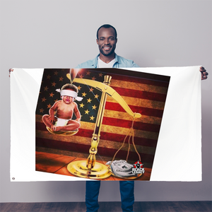 Scale of Justice   FLAG