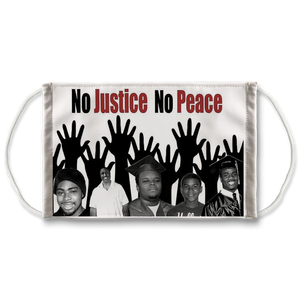 NO JUSTICE NO PEACE tshirt RIP GEORGE FLOYD YOU WILL HAVE JUSTICE MASK