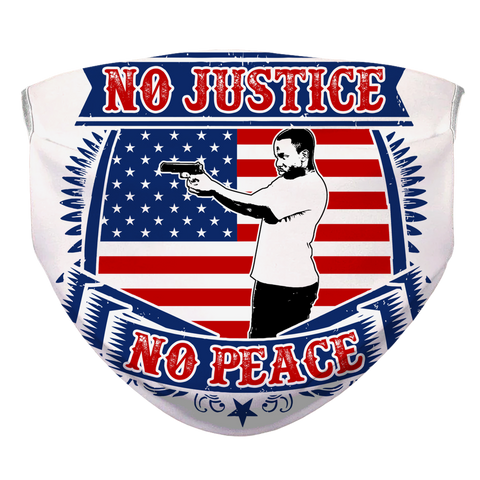 NO JUSTICE NO PEACE FACE MASK #1