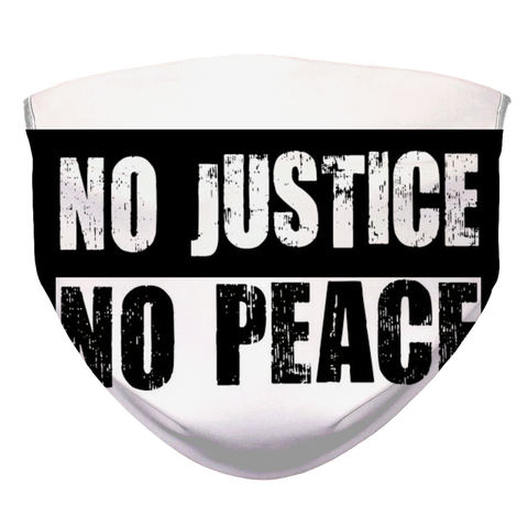 NO JUSTICE NO PEACE FACE MASK #2