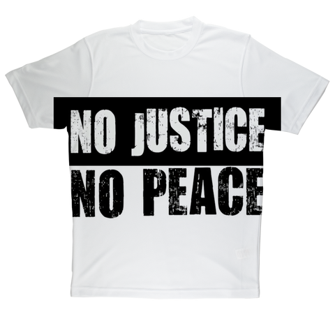 NO JUSTICE NO PEACE Alternative T-shirt