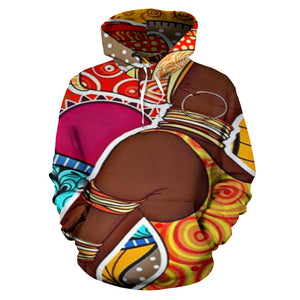 African Colors Culture Hoodie