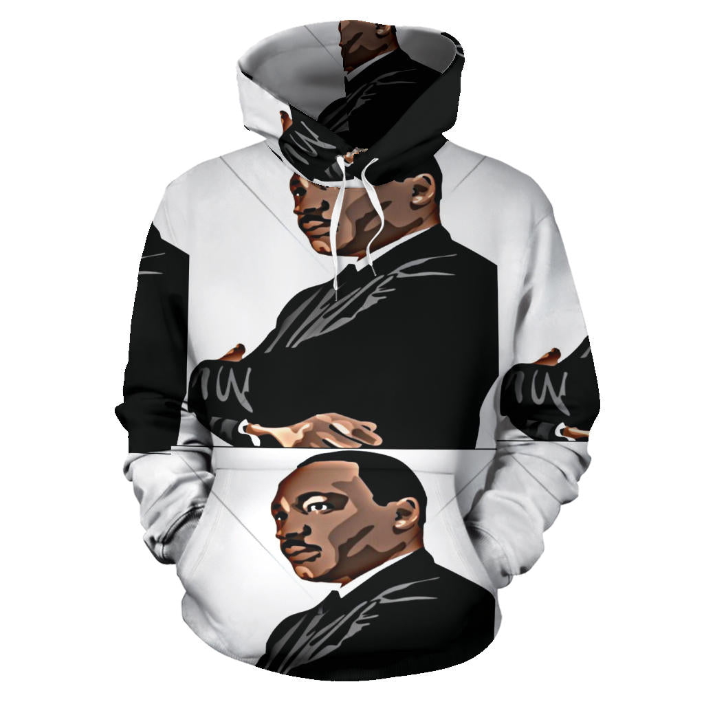 Dr. Martin Luther King portrait Hoodie