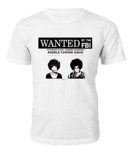 Angela Davis Wanted T-shirt - Black Legacy