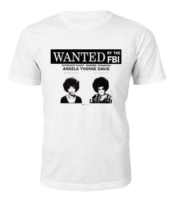 Angela Davis Wanted T-shirt