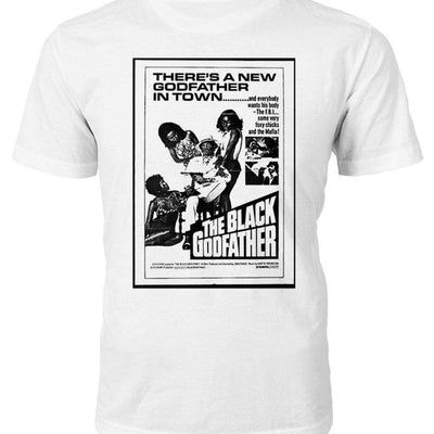 Black Godfather Poster T-Shirt