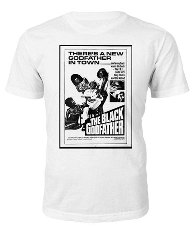 T-Shirt - Black Godfather Poster T-Shirt
