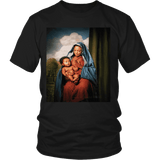 T-shirt - Black Jesus Chest T-shirt