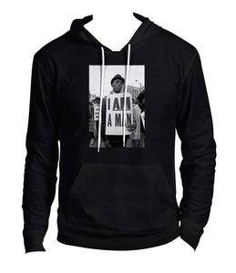 2d67284753c206 Buy The Most Powerful I Am a Man Hoodie!
