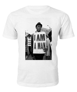 966d819ea26fcd Buy The Most Powerful I Am a Man T-shirt!