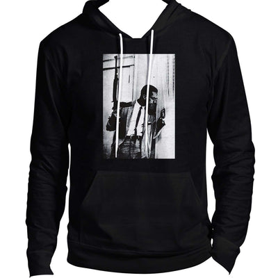 Malcolm X By Any Means Hoodie