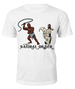 Natural Order T-shirt - Black Legacy