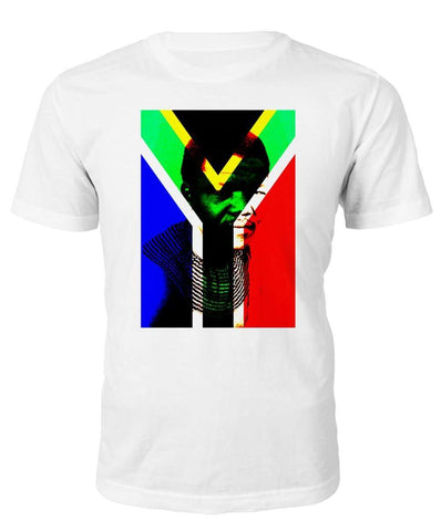 Nelson Mandela South Africa T-shirt - Black Legacy