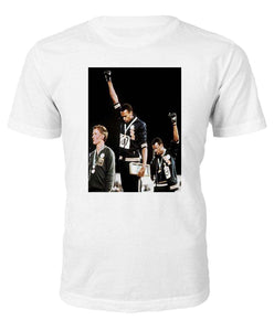 Olympic Rebellion 1968 T-shirt - Black Legacy