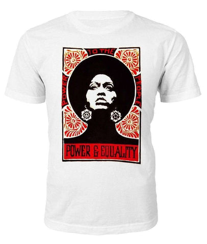 Power & Equality T-shirt - Black Legacy