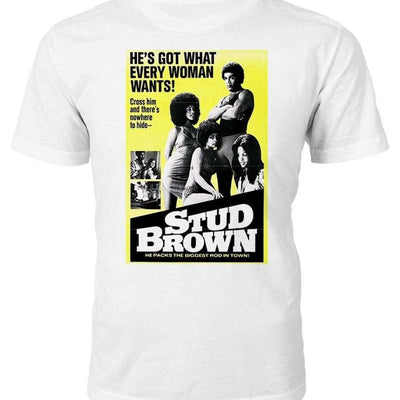 Stud Brown T-shirt