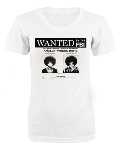 Angela Davis Wanted Woman T-shirt