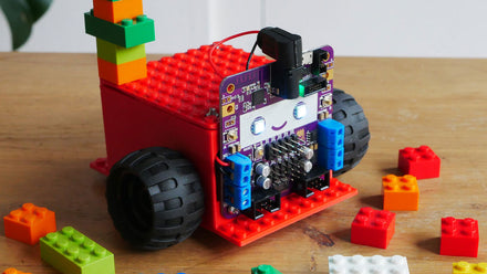 LEGO-compatible Smartibot Chassis to 3D print