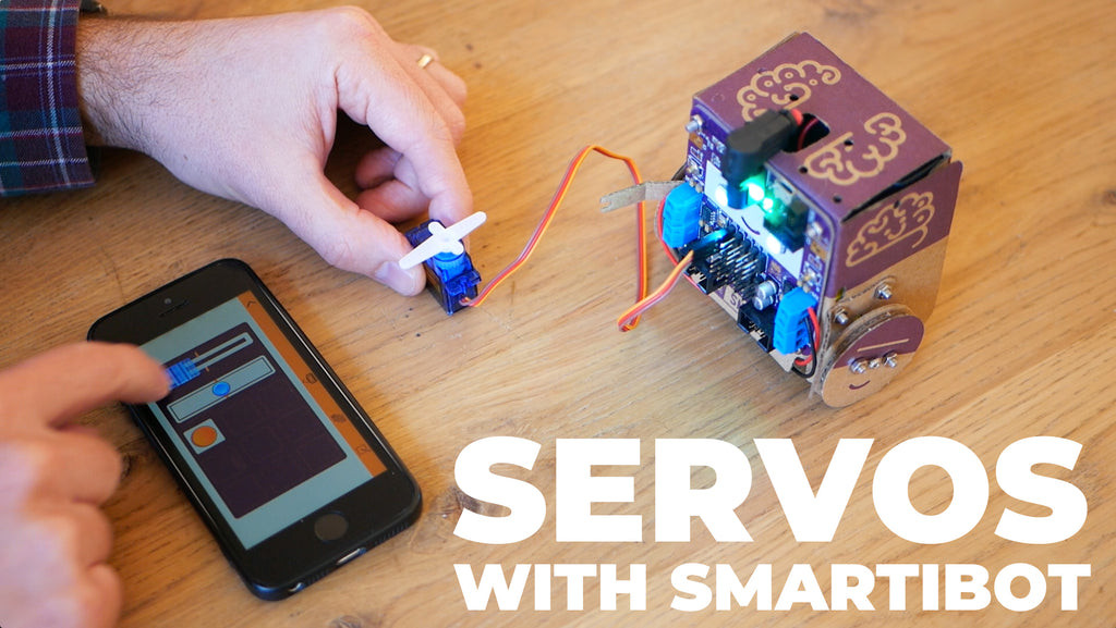 Using Servos with Smartibot