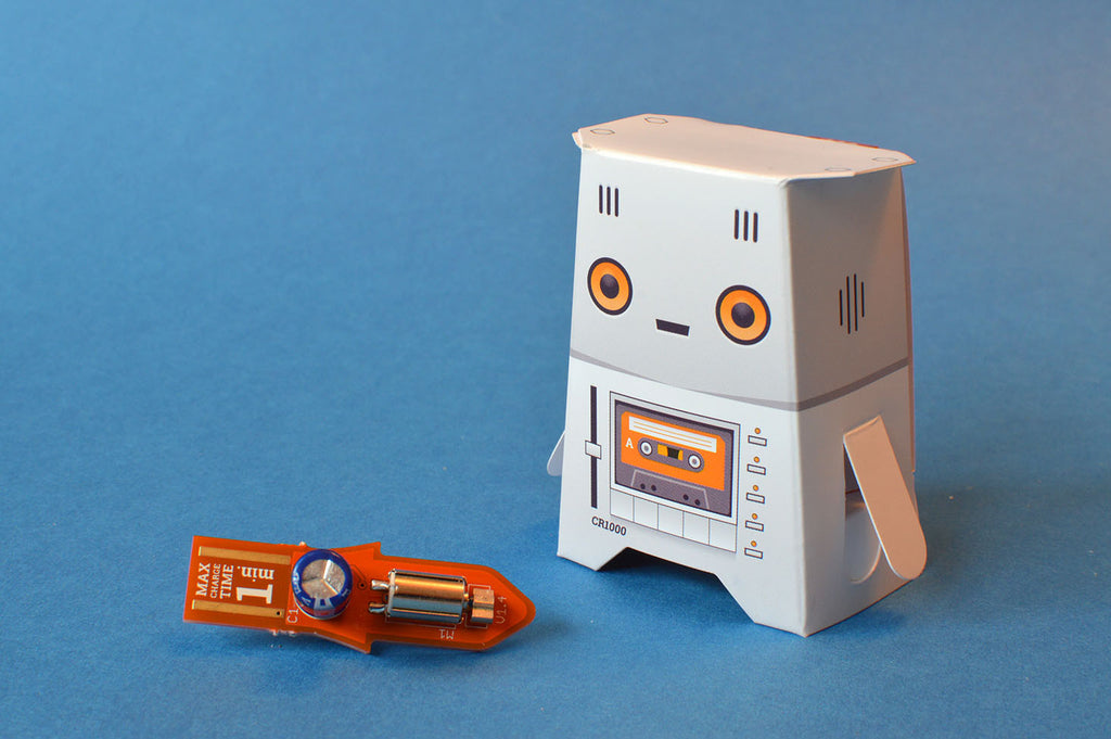 Crafty Robot Orange