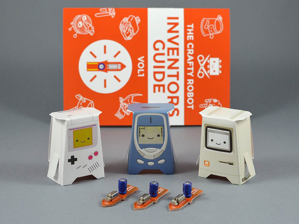 Three Crafty Robots