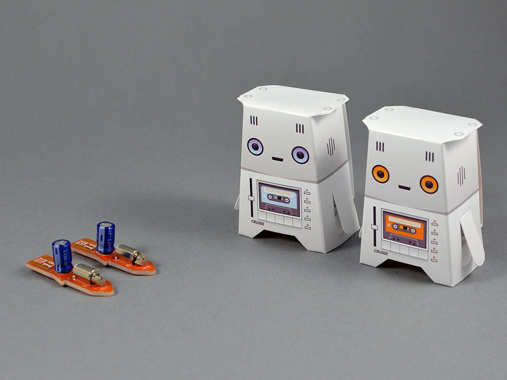 Two Crafty Robots