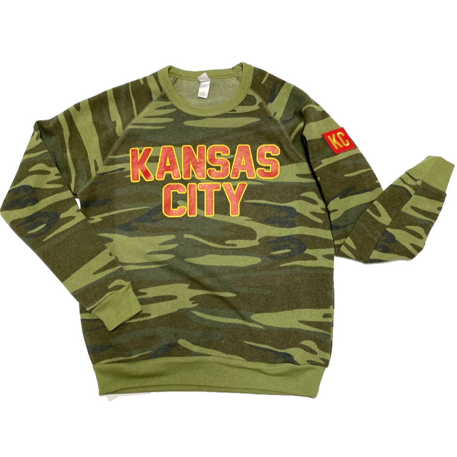 KANSAS CITY CAMO SWEATSHIRT