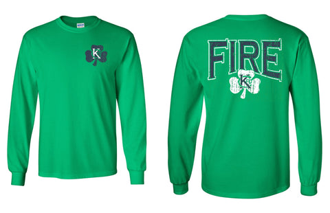 Irish -KCFD T-Shirt Long Sleeve