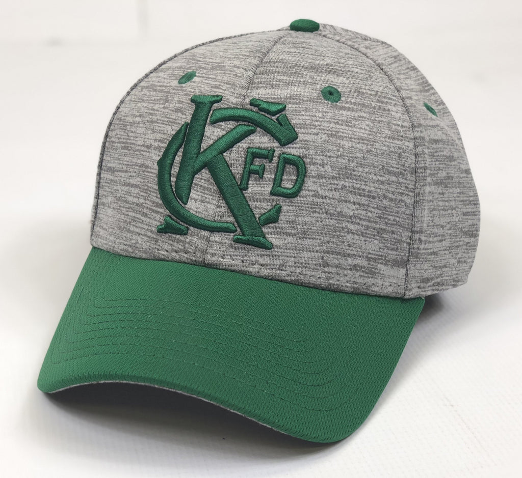 Irish KCFD Grey/Green Hat