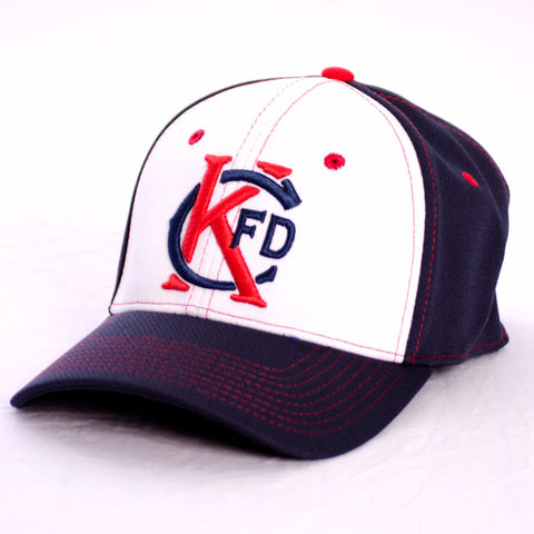 KCFD Hat Navy/White